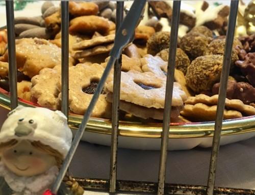 Weihnachtsplätzchen hinter Gittern