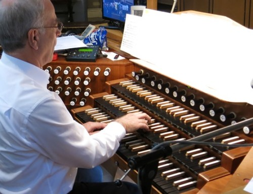 Vorspielen des neuen Kirchenmusikers