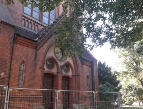 Neues zur Außensanierung der Kirche