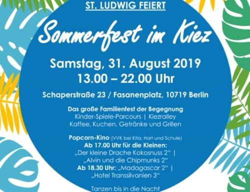 St. Ludwig feiert: Sommerfest im Kiez