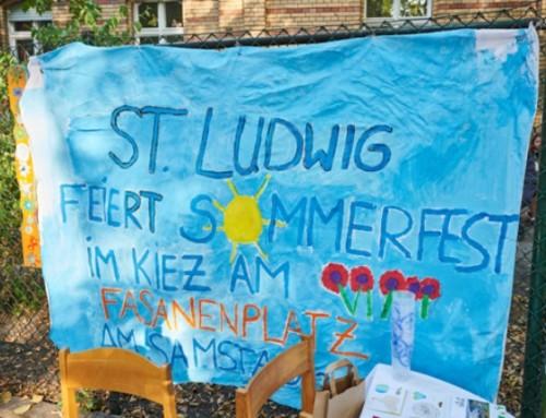 "Das WIR lebt – St. Ludwig feiert ""Sommerfest im Kiez 2019"""