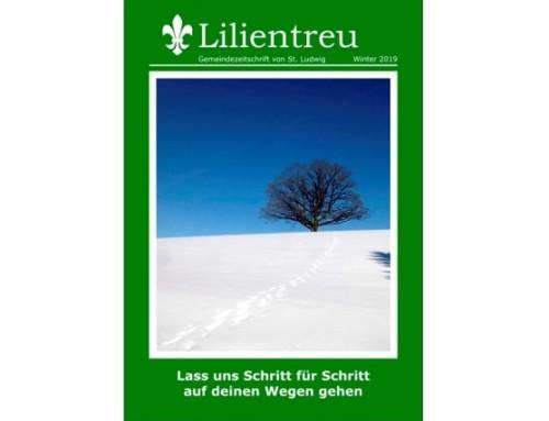 Winterausgabe der Lilientreu erscheint