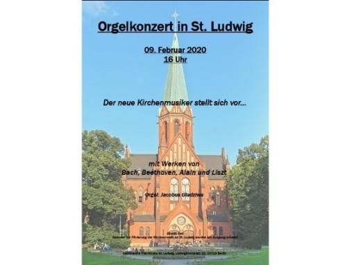 Orgelkonzert mit dem neuen Kirchenmusiker