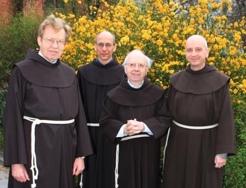 Verabschiedung der Franziskaner