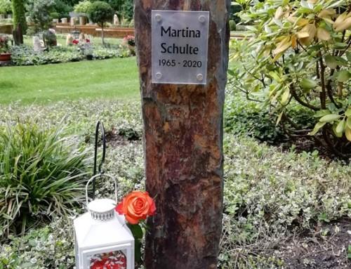 Gedenken an Martina Schulte