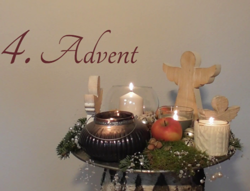 Digitaler Adventskranz: 4. Kerze
