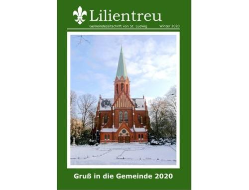 """Winterausgabe der """"Lilientreu"""""""