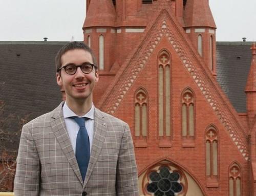Unser Kirchenmusiker berichtet über seine Arbeit