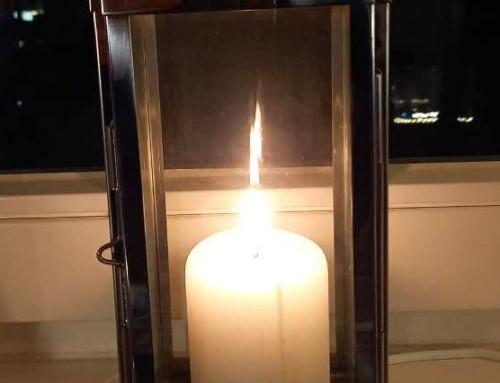 #lichtfenster – Gedenken an Corona-Tote