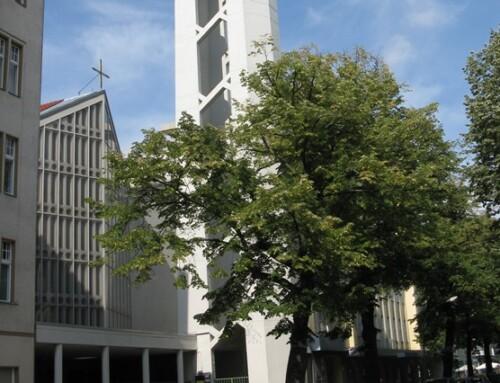 Sperrung der Kirche St. Albertus Magnus